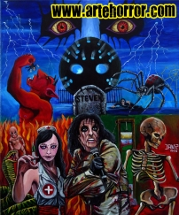 Alice Cooper Nightmare by J.A.Mendez